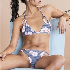 Acacia Swimwear Dragon Stripe Nusa Bottoms S